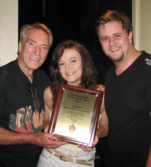 FRANK IFIELD with AMELIA RICHARDS and MATT McNEILLY