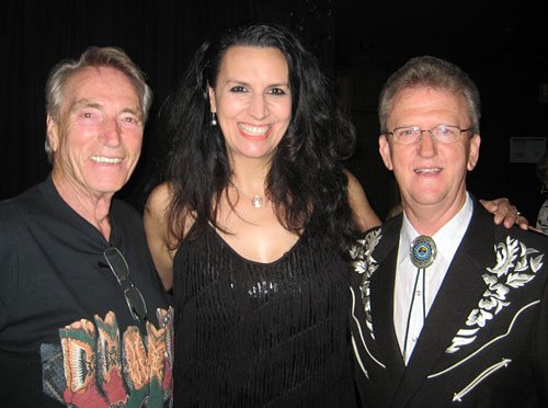 FRANK IFIELD with NICKI GILLIS and WAYNE HORSBURGH