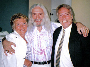 Carole and Frank Ifield with Charlie Landsborough