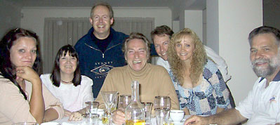 Lady Vikki Page, Karen Versace, Bob Howe, Frank, Doug and Donna Boyd, Tony Page