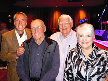 Frank Ifield, George Payne, Kenny Kitching, Emma Hannah