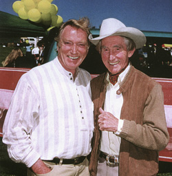 FRank ifield and Smoky Dawson in 1999