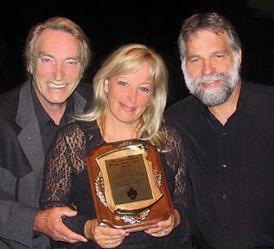 FRANK IFIELD, STACEY MORRIS and TONY PAGE