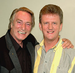 Frank Ifield and Wayne Horsburgh