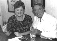 Meryl Gross and Frank Ifield