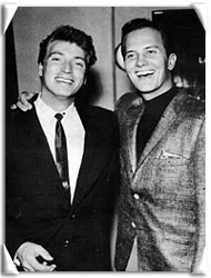 with Pat Boone
