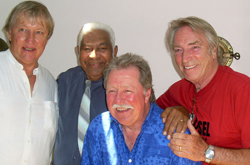 Roland Storm, Jimmy Little, Lucky Starr. Frank Ifield