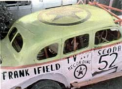 Frank's Scoda stock car