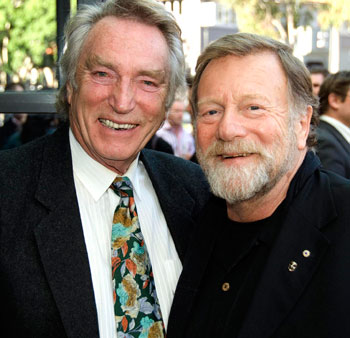 Frank ifield and Jack Thompson